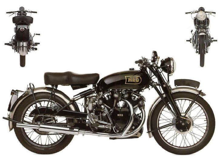 1949 Vincent HRD Black Shadow Series C1 The Death and Life Of Vincent Motorcycles