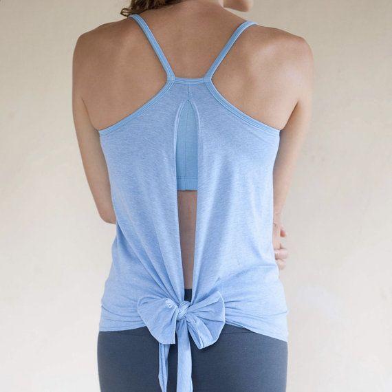 Nouveau! Vêtements de Yoga Yoga backless réservoir - 'elmostafa' avec soutien-gorge intégré Support - féminines