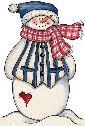 Christmas snowman clip art navidad pinterest