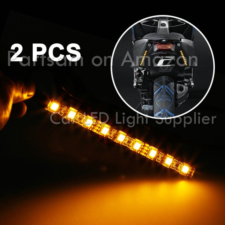 Led Light Strips For Motorcycles 43 Best Partsam Car Led Light Images On Pinterest  Homemade Ice