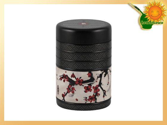Puszka do przechowywania herbaty. Bardzo dobrze wykonana, estetyczna, wzornictwo japońskie.