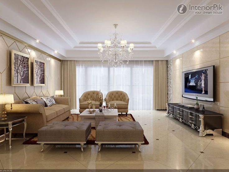 European Style Living Room Tv Background Wall Decor Picture New Tv Room Design Living Room Design Decoration