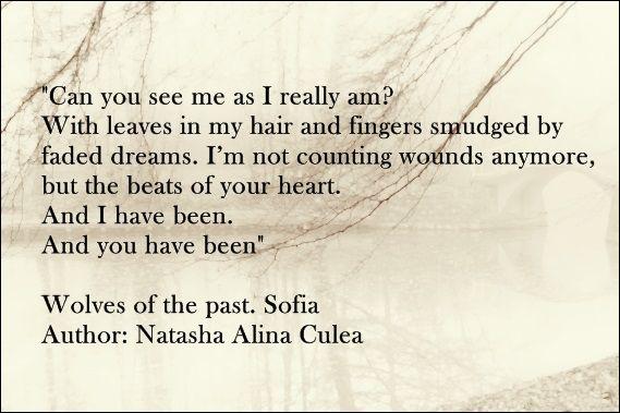 Lupii trecutului. Sofia Wolves of the past. Sofia (book) Author: Natasha Alina Culea