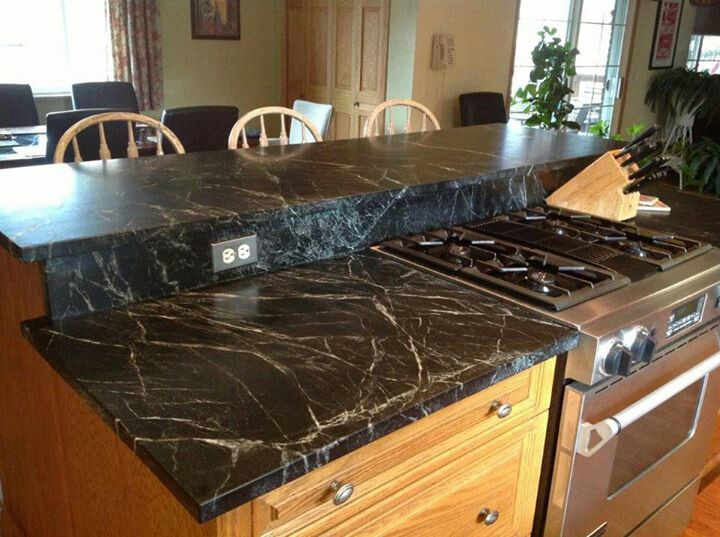 Soapstone Countertops Cost : Soapstone countertops Kitchen & Dining Room Pinterest