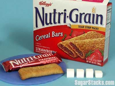 How Much Sugar in Breakfast Items?