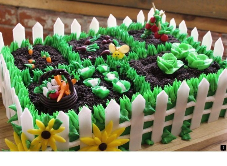 Learn About Cake Shop Please Click Here To Learn More Our Web Images Are A Must See Themenbezogene Torten Kuchen Gartenmotiv Tortendeko