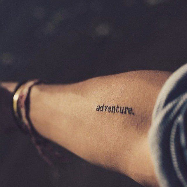 25+ Best Ideas About Wanderlust Tattoos On Pinterest