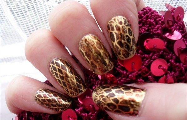Snakeskin Nail