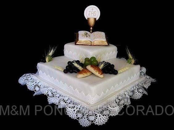tortas de 1era comunion