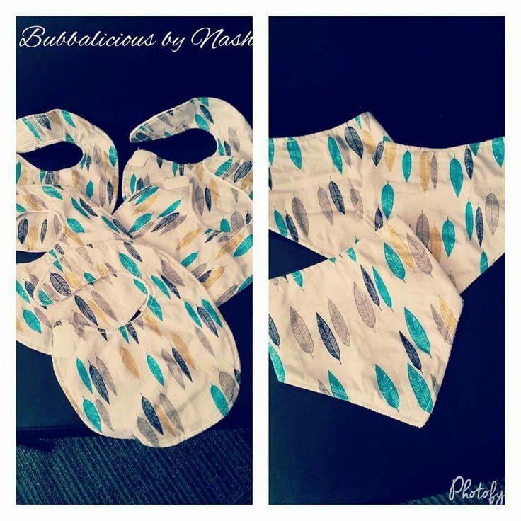 Handmade bandana bibs and traditional bibs