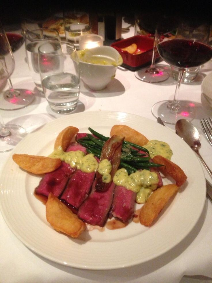 """@mrhappyontherun: """"@Leukaemia & Lymphoma Research this was my main course at the michelin starred restaurant we went to for my sister's birthday meal last week. Best steak ever! #FeelAlive"""