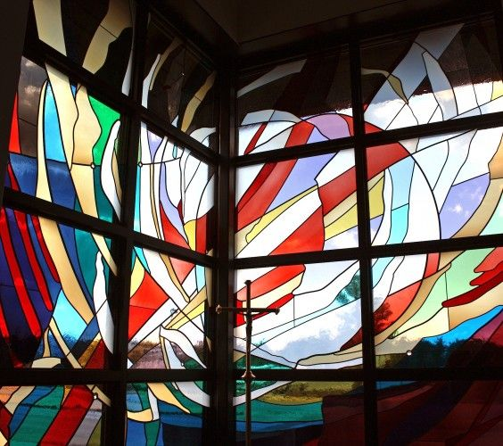 17 best images about stained etched glass art on pinterest for Architectural glass art