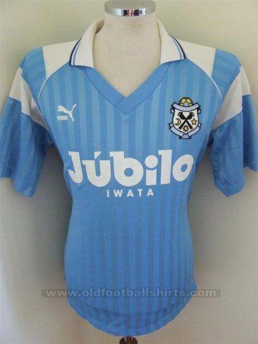 Jubilo Iwata Casa camisa de futebol 1993 - 1994