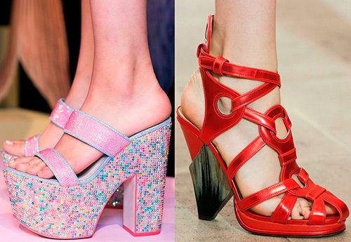 Модные босоножки и сандалии весна-лето 2016