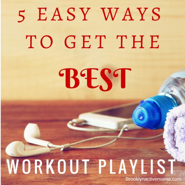 5 Easy ways to get the hottest workout playlist!