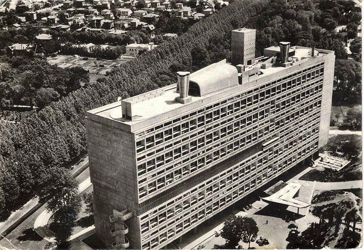 le corbusier unite d habitation unidad habitacional marsella francia 1945 1952. Black Bedroom Furniture Sets. Home Design Ideas