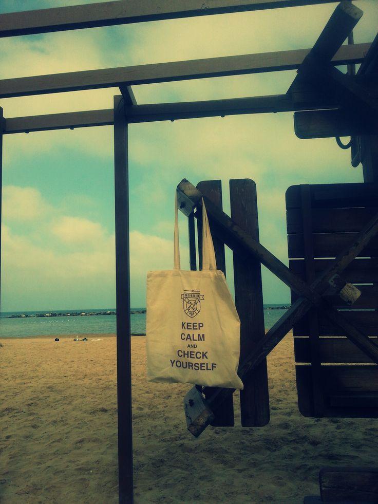 #Polish social campaign #Rakoobrona (Cancerdefence) in #Pesaro. Remember about sun protection!