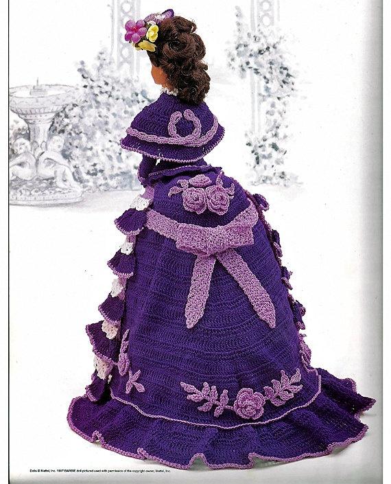 25 Best Images About Crochet Victorian Dolls On Pinterest