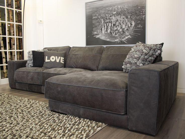 Hoekbank king xl 319 cm huiskamer pinterest couch for Sofa 3 meter