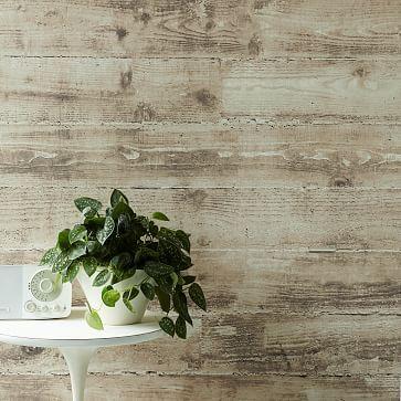 Sepulveda Mural Wallpaper - Taupe 10' wide, 9' high. $369 at #westelm. Use on wall between bedrooms.