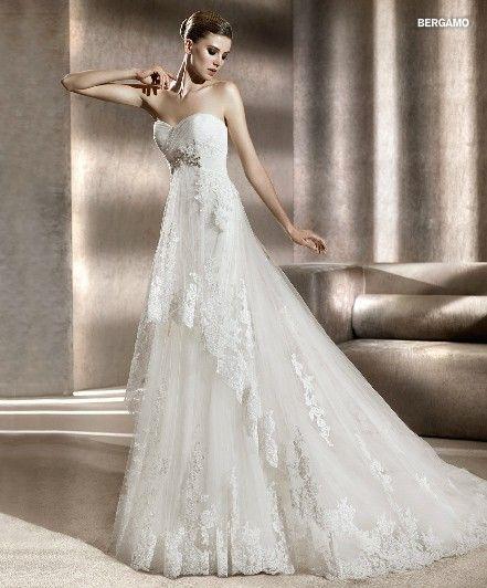 titleСвадебное платье А-силуэт Bergamo 2012