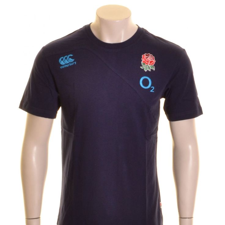 Canterbury England Rugby TShirt Navy and Blue  20 00 at ShopRugby