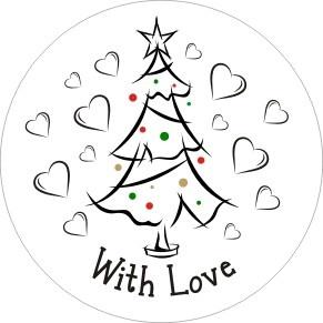 35 Sluitzegels - Christmas Love