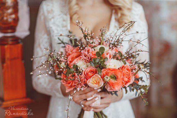 Услуги  - Список услуг  - Букет невесты - Валентина Романтика - Студия свадебной флористики, Москва