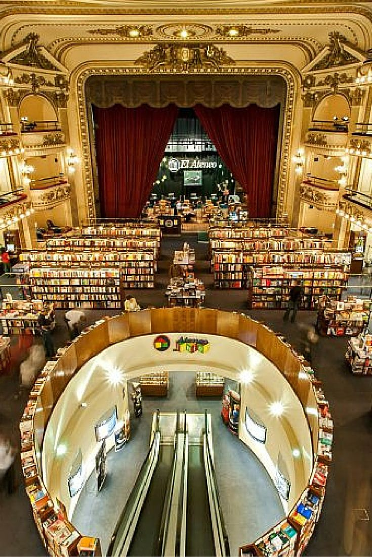 El Ateneo Grand Splendid Bookstore Is A Bookshop In Buenos Aires Argentina Which
