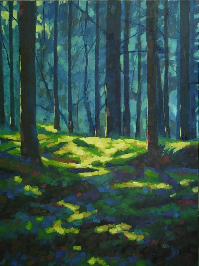 by mary McInnis A Quiet Place Painting - A Quiet Place Fine Art Print