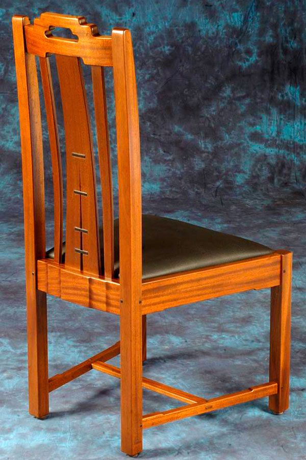 Gamble House Chairs Finewoodworking Furniture Farmhouse Dining Table Chair