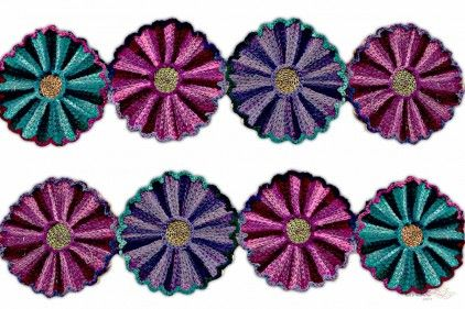 Woolen Lace  Its product code is: 001059.Price: Rs1,125.00 / 9 Meter Roll buy at www.lacxo.com
