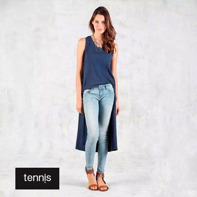 Verse bien y estar a la moda, 2 cosas elementales en las mujeres #Mujer #latina #women #fashion #moda #jeans #Tshirt #blusa #azul #sandalias #shoes #casual #style #goodlooking #pretty #bucaramanga #cccuartaetapa Tennis