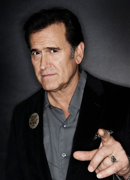 Actor Bruce Campbell is photographed for Self Assignment ... Bruce Campbell