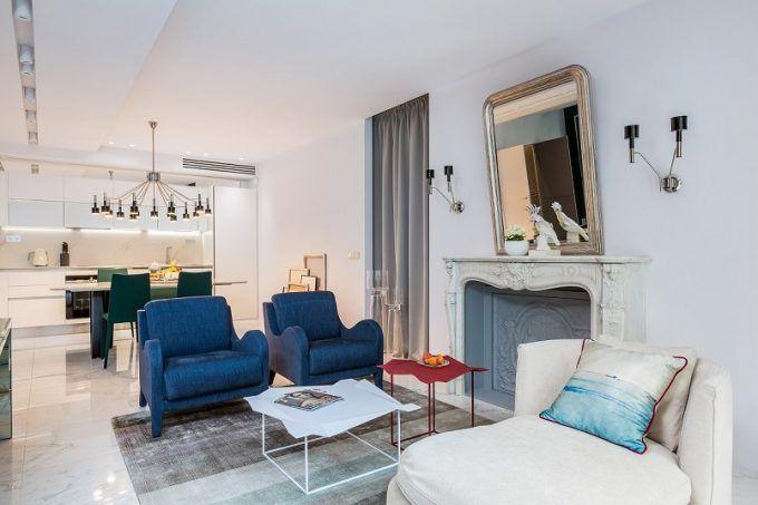 Lieblich Paris Wohnung Belle Novelle In Einem Modernen Und Eklektischen Stil
