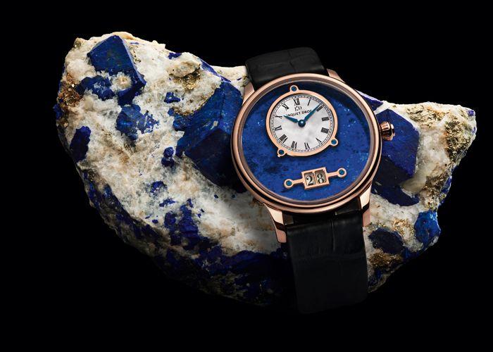 Grande Date Lapis Lazuli by Jaquet Droz