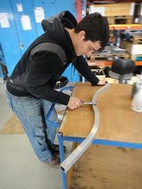 Aluminium bending @ www.barnshaws.com