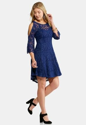 a1cc47acd1c57c Cato Fashions Plus Size Lace Fit and Flare Dress  CatoFashions ...
