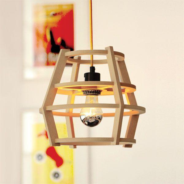 Lamp Shades to Assemble Abat-jour de bois à assembler par by Mpgmb