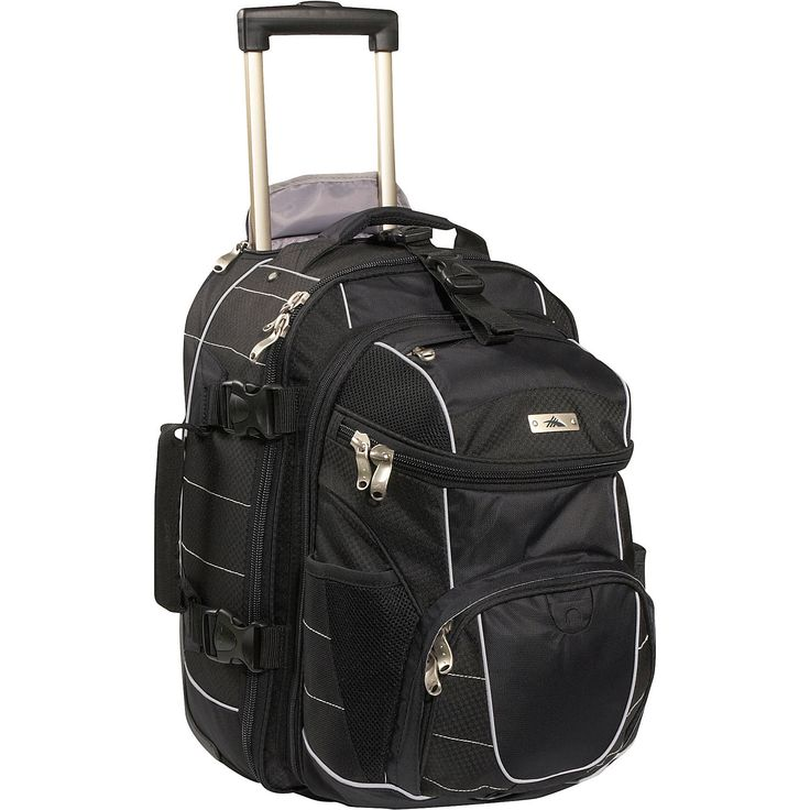 17+ images about Rolling luggage with detachable backpack ...