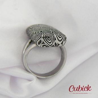 Eowyn ~ damasteel šperky a prsteny Cubick