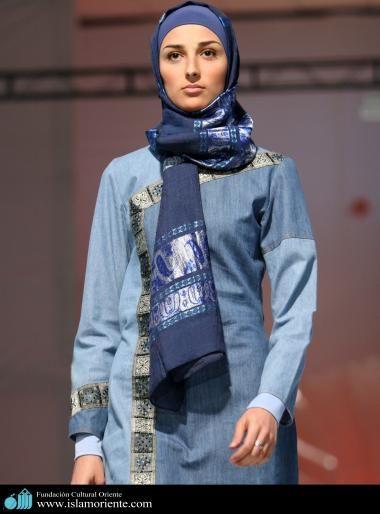 Mujer musulmana y desfile de moda - 21