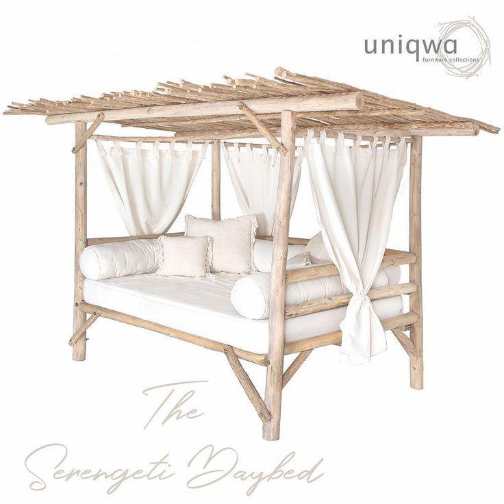 """Uniqwa Furniture auf Instagram: """"Wir stellen unser Serengeti Daybed vor … es ist ein überwältigendes Übermaß"""