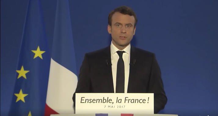 Greece Applauds Emmanuel Macron for French Presidency Win.