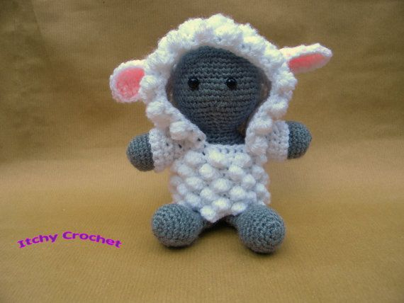 Inchoate Lamb Crochet Kit by ItchyCrochetDesigns on Etsy