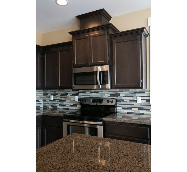 Black and tan home colors tan brown granite black and Tan kitchen backsplash