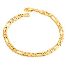 Classic Figaro Ketting Armband Mode Groothandel Sieraden 18 K Real Vergulde 5 MM Link Chain Armbanden Armbanden Mannen Sieraden(China (Mainland))