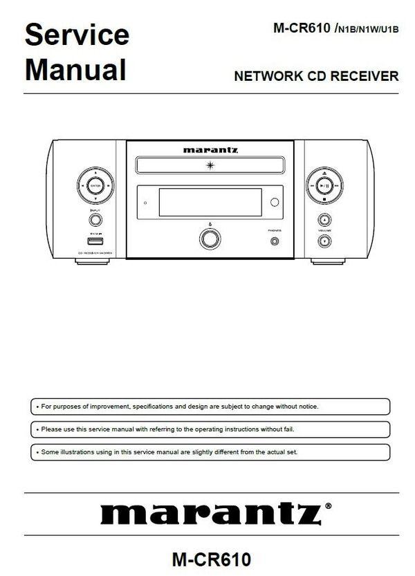 Pin On Marantz Audio Video Devices Service Manuals