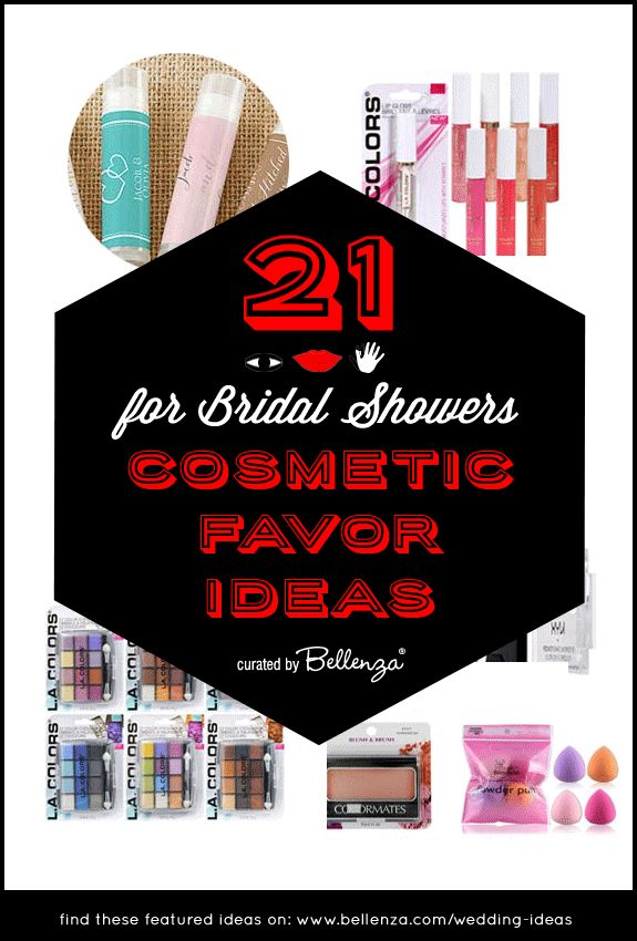 cosmetic favor ideas for bridal showers curated by bellenza