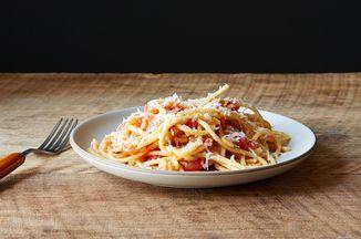 Bucatini all'Amatriciana Recipe on Food52, a recipe on Food52